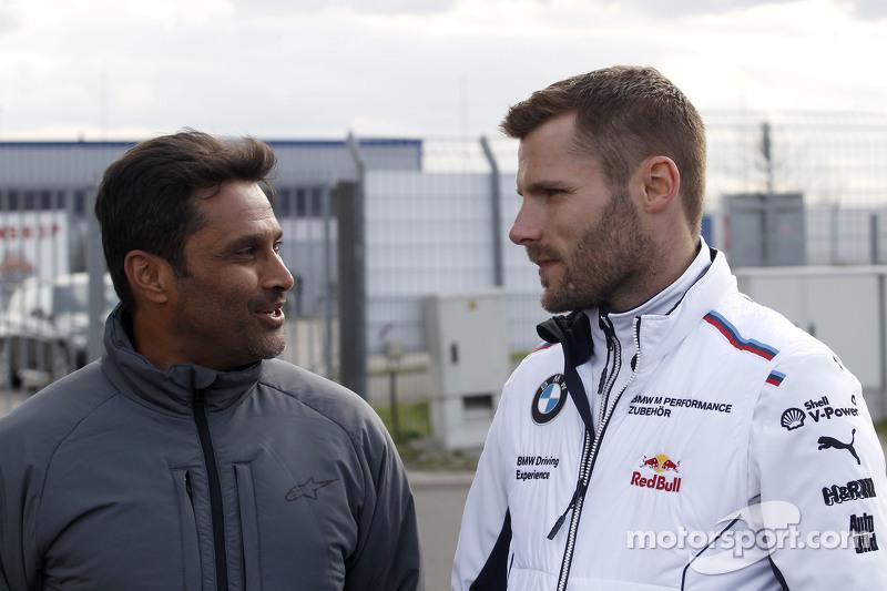 Nasser Al Attiyah, dan Martin Tomczyk, BMW Team Schnitzer BMW M4 DTM