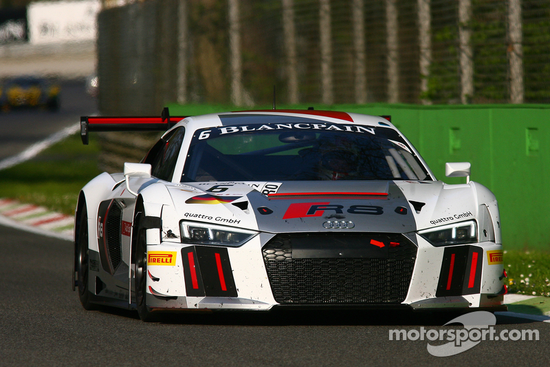 #6 Phoenix Racing Audi R8 LMS: Christopher Haase, Christian Mamerow, Markus Winkelhock
