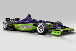 El auto de Indy Lights de Picho Toledano