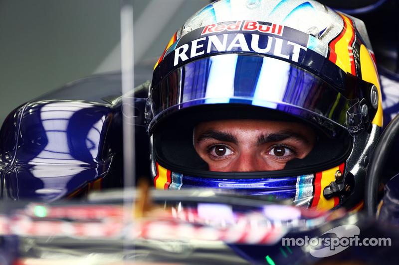 Carlos Sainz Jr., Scuderia Toro Rosso STR10.