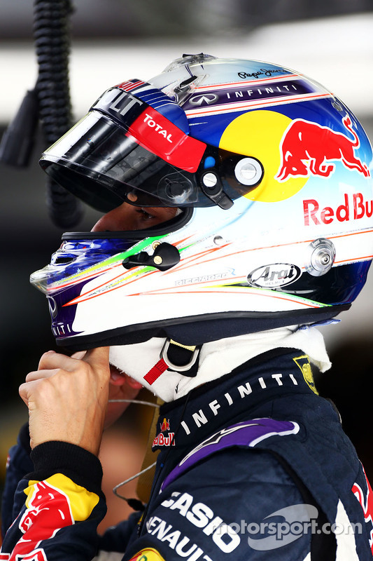 Daniel Ricciardo Red Bull Racing RB11.