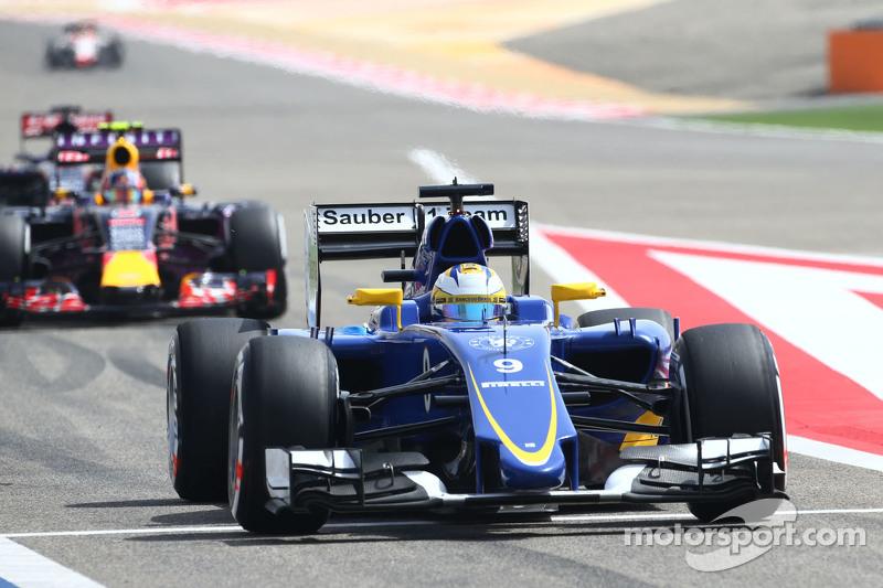 Marcus Ericsson Sauber C34.