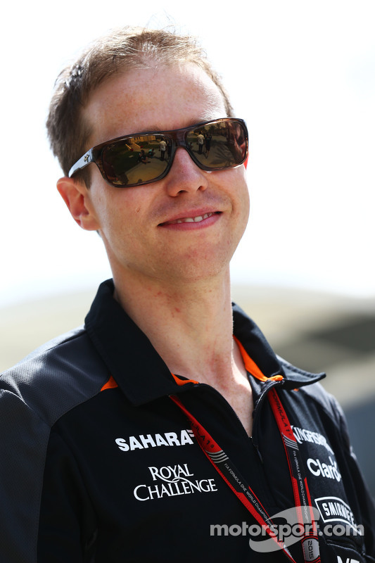 Will Hings, Press Officer Sahara Force India F1