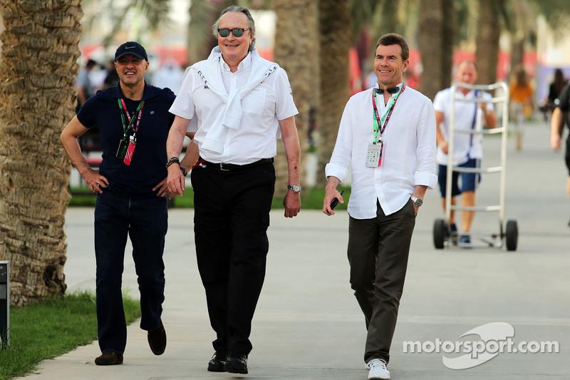 Мансур Ожьє, акціонер McLaren з Paul Stewart