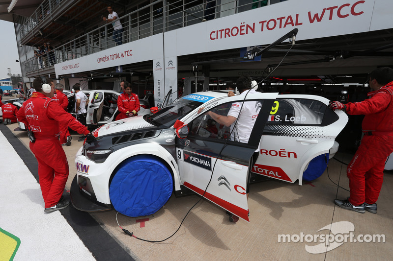 Sébastien Loeb, Citroën C-Elysée WTCC, Citroën World Touring Car Team, WTCC