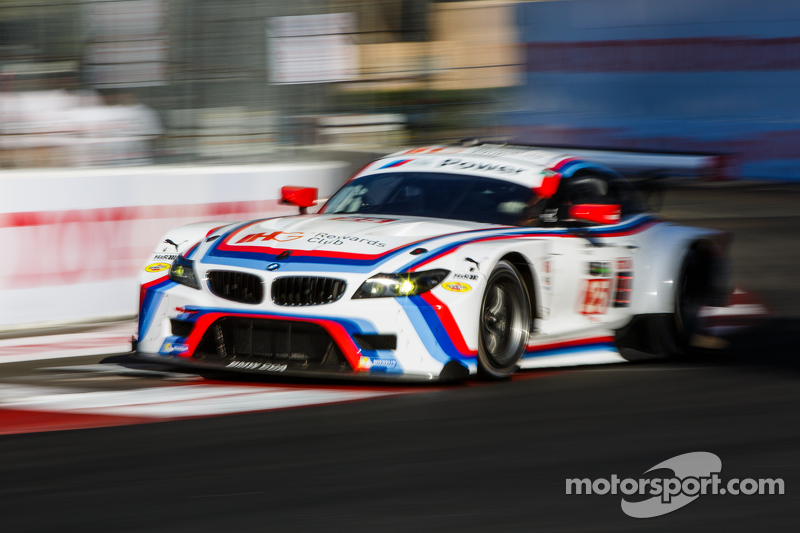 BMW Team RLL BMW Z GTE Bill Auberlen Dirk Werner At Long Beach - Bmw 25