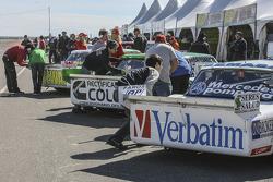 Von links nach rechts: Matias Jalaf, Alifraco Sport, Ford; Emanuel Moriatis, Alifraco Sport, Ford; Leonel Sotro, Alifraco Sport, Ford