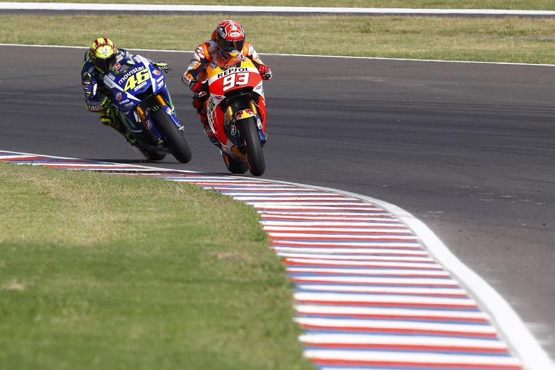 Rossi vs Márquez, acte 1