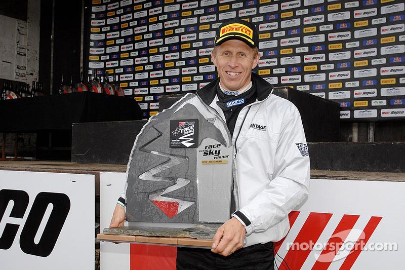 Overall winner Alister McRae