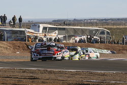 Matias Rossi, Donto Racing, Chevrolet; Juan Marcos Angelini, UR Racing, Dodge, und Omar Martinez, Martinez Competicion, Ford