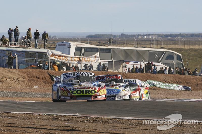 Lionel Ugalde, Ugalde Competicion Ford Martin Serrano, Coiro Dole Racing Dodge Mariano Altuna, Altuna Competicion Chevrolet