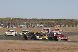 Matias Rossi, Donto Racing, Chevrolet; Leonel Pernia, Las Toscas Racing, Chevrolet; Juan Marcos Angelini, UR Racing, Dodge, und Agustin Canapino, Jet Racing, Chevrolet
