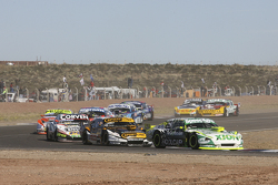 Agustin Canapino, Jet Racing, Chevrolet; Leonel Pernia, Las Toscas Racing, Chevrolet; Juan Marcos Angelini, UR Racing, Dodge