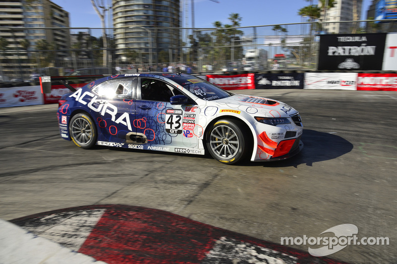 #43 RealTime Racing Acura TLX-GT: Ryan Eversley