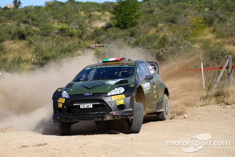 Lorenzo Bertelli And Giovanni Bernacchini, Ford Fiesta Rs Wrc, Fwrt S.R.L