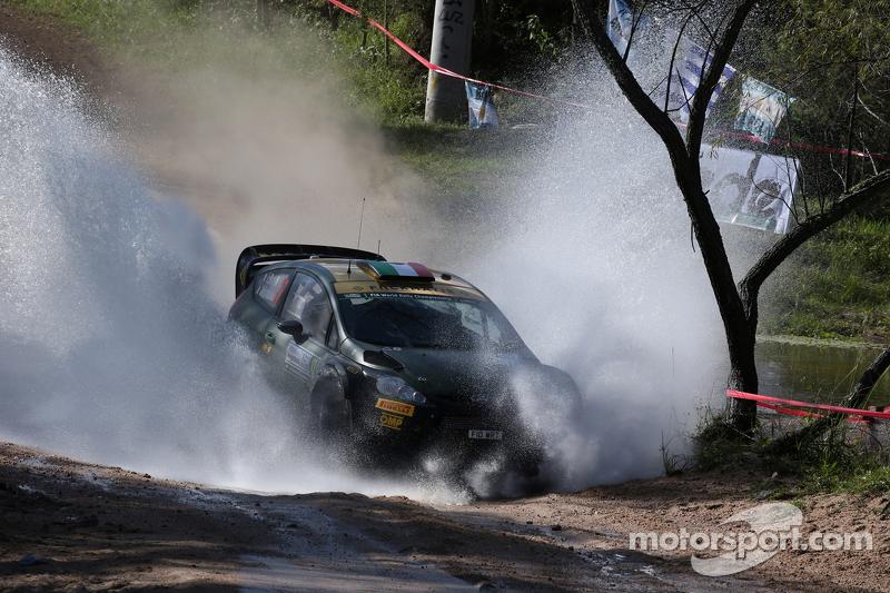 Лоренцо Бертеллі та Джованні Берначчіні,  Ford Fiesta Rs Wrc, Fwrt S.R.L