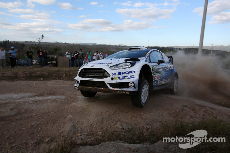 Elfyn Evans et Daniel Barrit, Ford Fiesta RS WRC, M-Sport World Rally Team