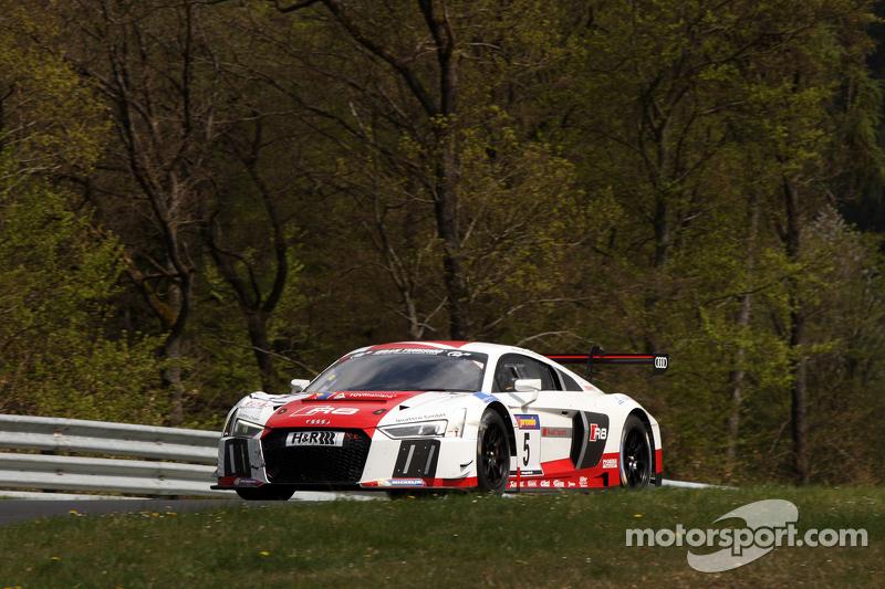 #5 Марсель Фаслер, Крістофер Гаазе, Frank Stippler Audi Sport Team Phoenix R8 LMS