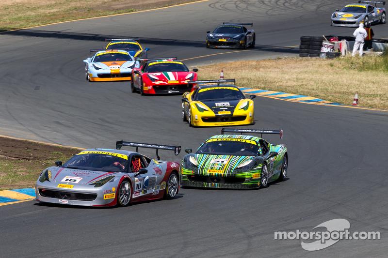#18 Ferrari of San Francisco, Ferrari 458: James Weiland