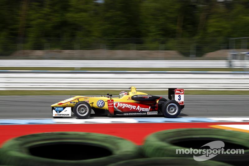 Antonio Giovinazzi, Jagonya Ayam mit Carlin, Dallara F312