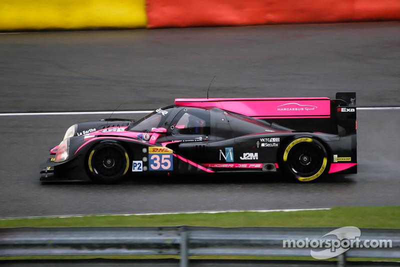 #35 OAK Racing, Ligier JS P2-Nissan: Jacques Nicolet, Jean-Marc Merlin, Erik Maris