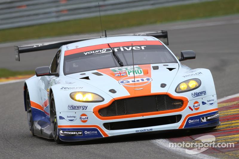 #95 Aston Martin Vantage V8: Christoffer Nygaard, Marco Sörensen