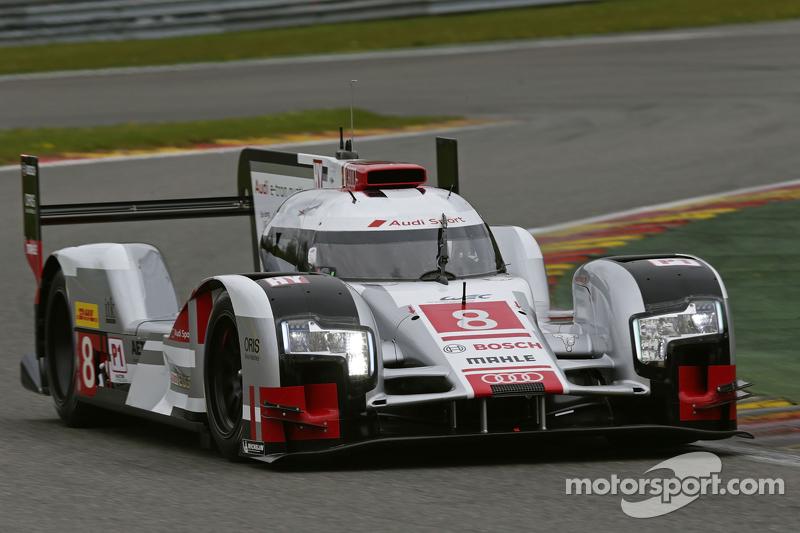 #8 奥迪运动车队,奥迪 R18 e-tron quattro: Lucas di Grassi, Loic Duval, Oliver Jarvis