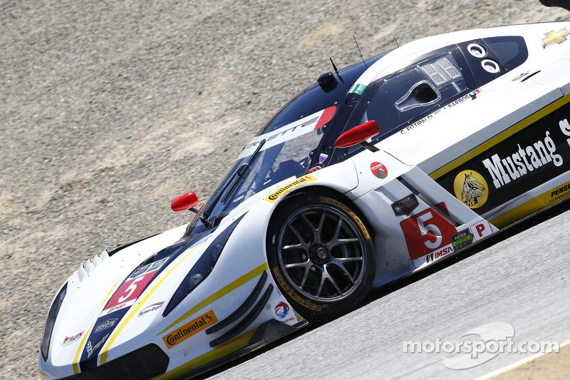 #5 Action Express Racing Corvette DP: Жоао Барбоза, Крістіан Фіттіпальді
