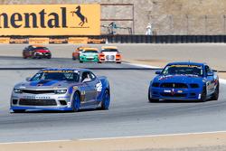#9 Stevenson Motorsports,雪佛兰科迈罗Z/28.R: Andy Lally, Matt Bell