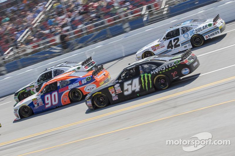 Маріо Госселін, King Autosport Chevrolet та Боріс Сайд, Joe Gibbs Racing Toyota