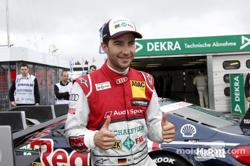Pole Race 2, Mike Rockenfeller, Audi Sport Team Phoenix Audi RS 5 DTM