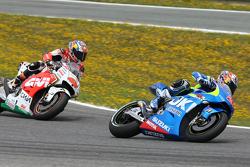 Maverick Viñales, Team Suzuki MotoGP y Jack Miller, Team LCR Honda