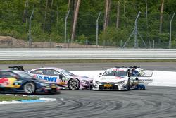 Lucas Auer, ART Grand Prix, Mercedes-AMG C63 DTM, und Martin Tomczyk, BMW Team Schnitzer, BMW M4 DTM