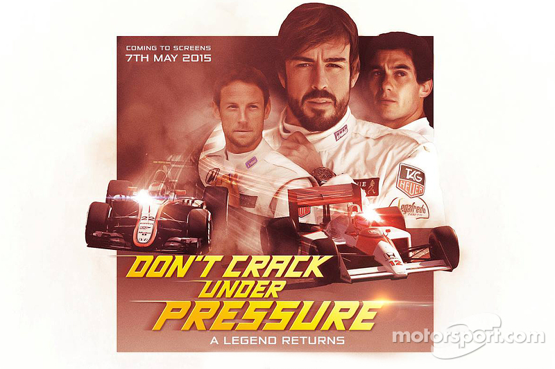 McLaren renk düzeni fragman afişi