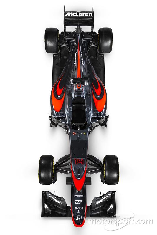McLaren renk düzenini tanıtıyor