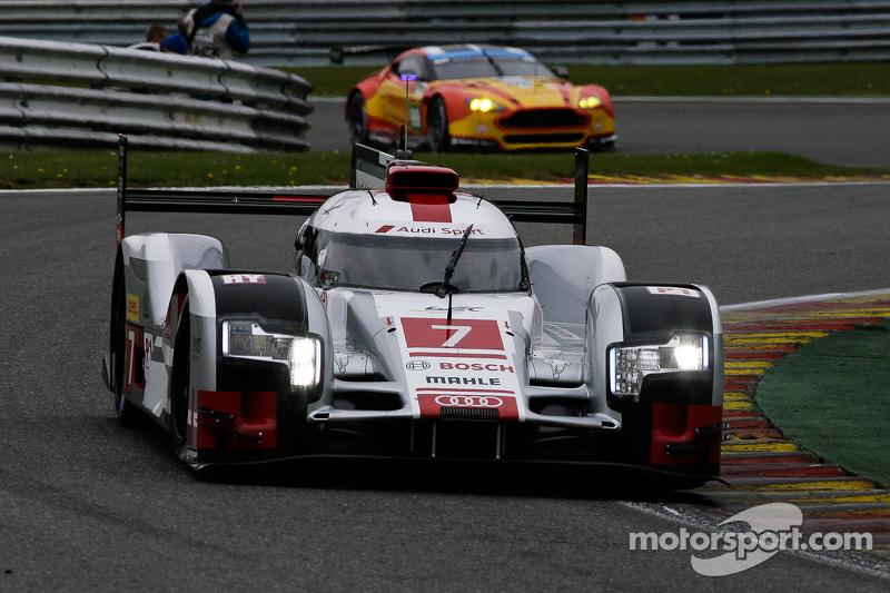 #7 Audi Sport Team Joest Audi R18 e-tron quattro Hybrid: Марсель Фаслер, Андре Лоттерер, Бено Трелуєр
