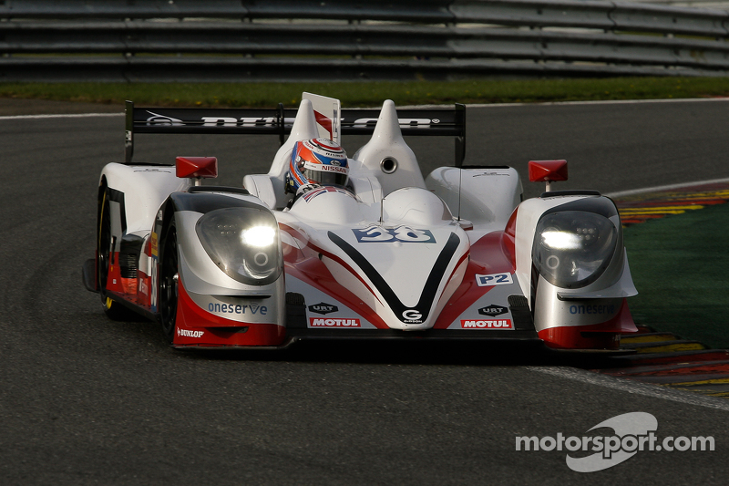 #28 G-Drive Racing, Ligier JS P2-Nissan: Gustavo Yacaman, Luis Felipe Derani, Ricardo Gonzalez