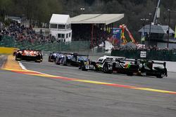 Partenza: #17 Porsche Team Porsche 919 Hybrid Hybrid: Timo Bernhard, Mark Webber, Brendon Hartley al comando