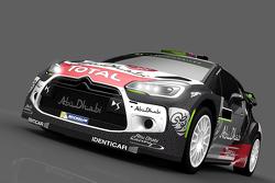 Presentación del auto de Mads Ostberg y Jonas Andersson, Citroën DS3 WRC, Citroën World Rally Team