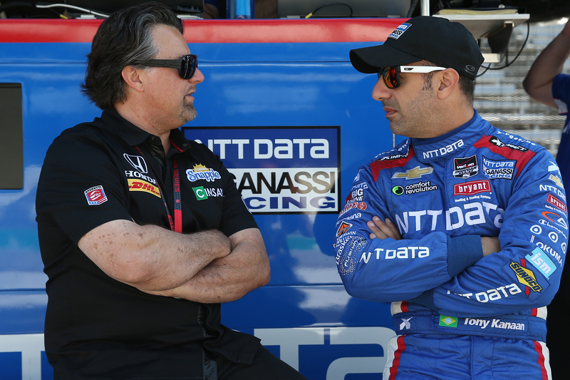 Michael Andretti und Tony Kanaan, Chip Ganassi Racing, Chevrolet