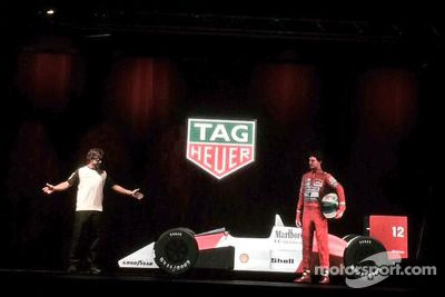 McLaren livery onthulling