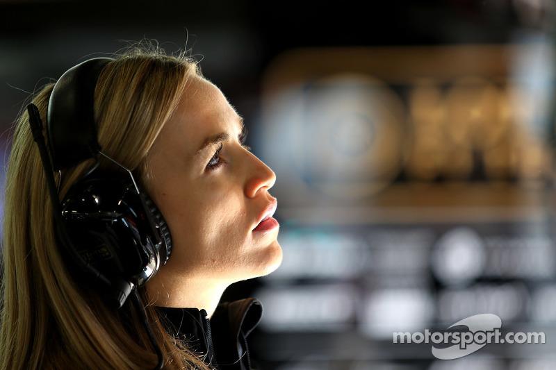 Carmen Jorda, Lotus F1 Team, Pilota collaudatrice