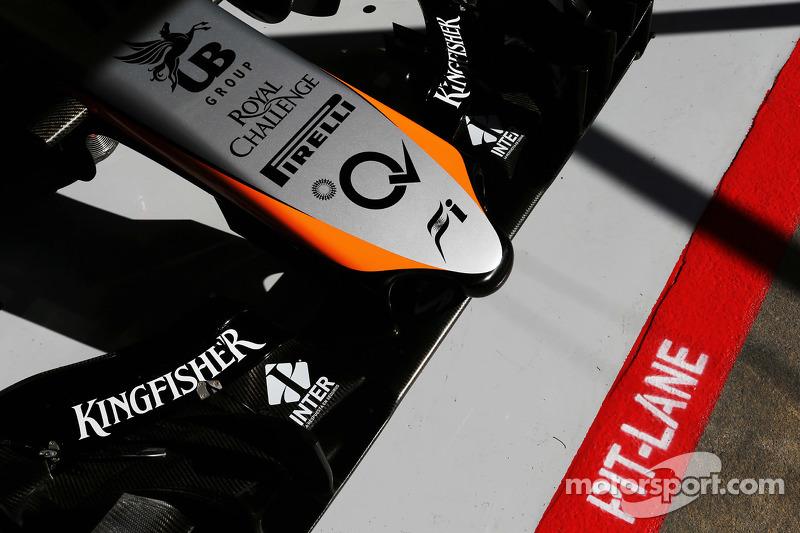 Sahara Force India F1 VJM07, Frontpartie