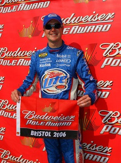Pole winner Kurt  Busch