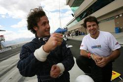 Michel Jourdain and Oriol Servia