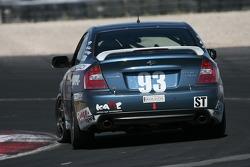 Subaru Legacy n°93 GOTO Racing : Brian Lock, Chris Lock, Gary Sheehan
