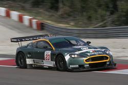 #23 Aston Martin Racing BMS Aston Martin DBR 9: Christian Pescatori, Fabio Babini