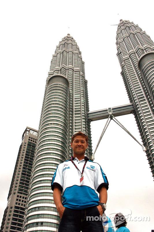 Makoto Tamada visita Kuala Lumpur