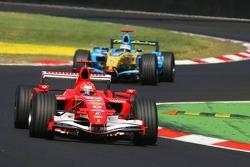 Michael Schumacher et Fernando Alonso