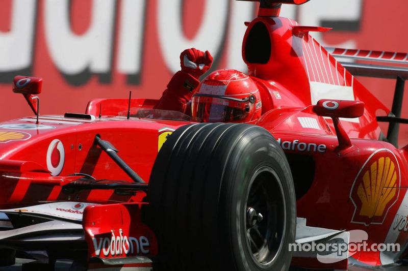 3. GP de Italia 2006: Michael Schumacher (Ferrari) en 1h14min51s975 (245.814 km/h)